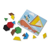 Mickey Mouse Pattern Tiles Set by Melissa & Doug
