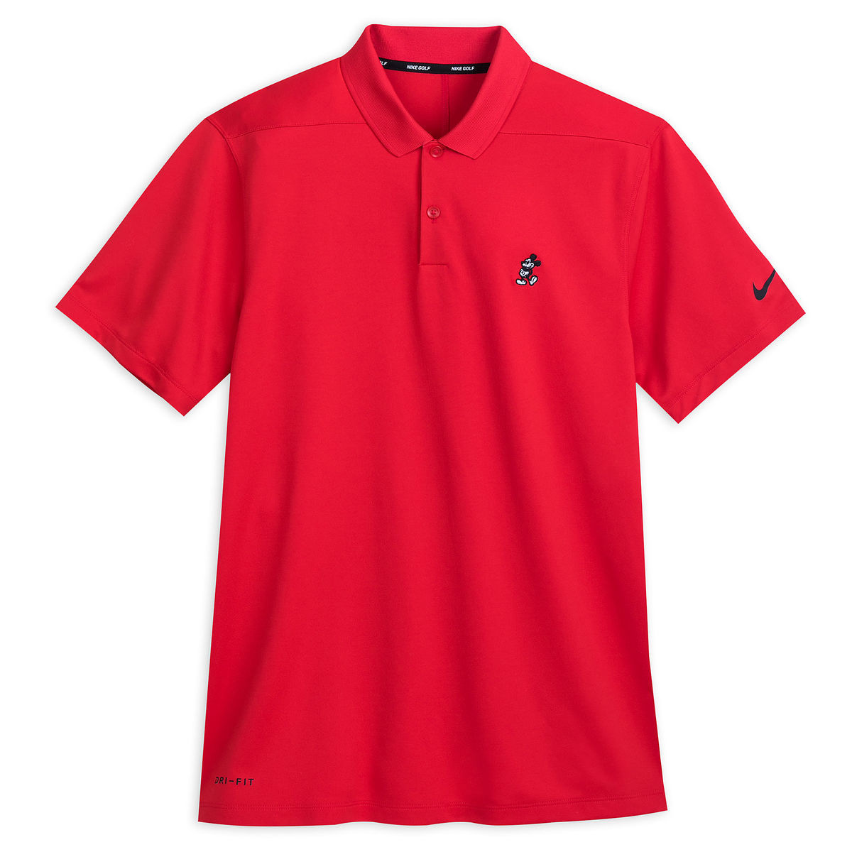 Mickey Mouse Performance Polo Shirt For Men By Nike Golf Red