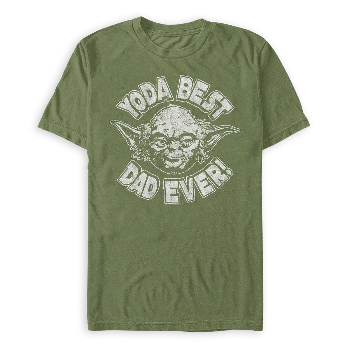 ee959da4e Product Image of Yoda ''Best Dad Ever'' T-Shirt ...