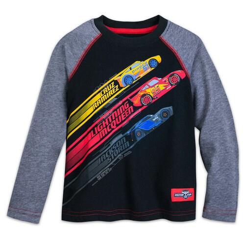 Cars Raglan Shirt for Kids