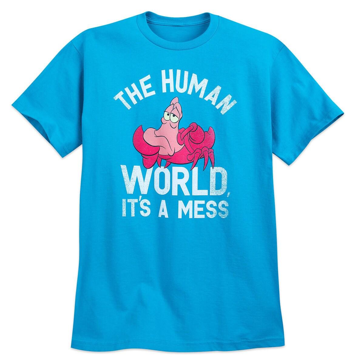 Sebastian T-Shirt for Adults - The Little Mermaid - Oh My Disney ...