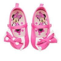 Image of Minnie Mouse Costume Shoes for Baby - Pink # 2