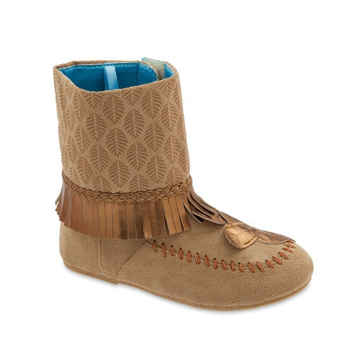 Pocahontas Costume Boots for Kids
