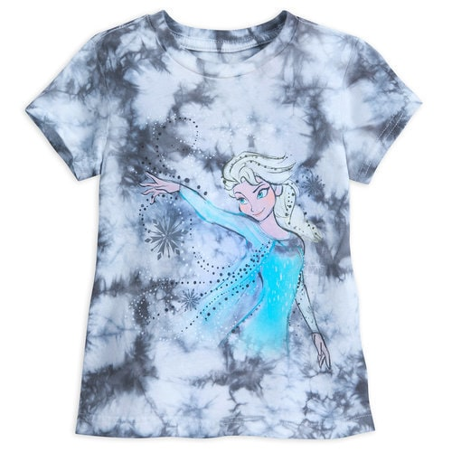 Elsa Tie-Dye T-Shirt for Girls