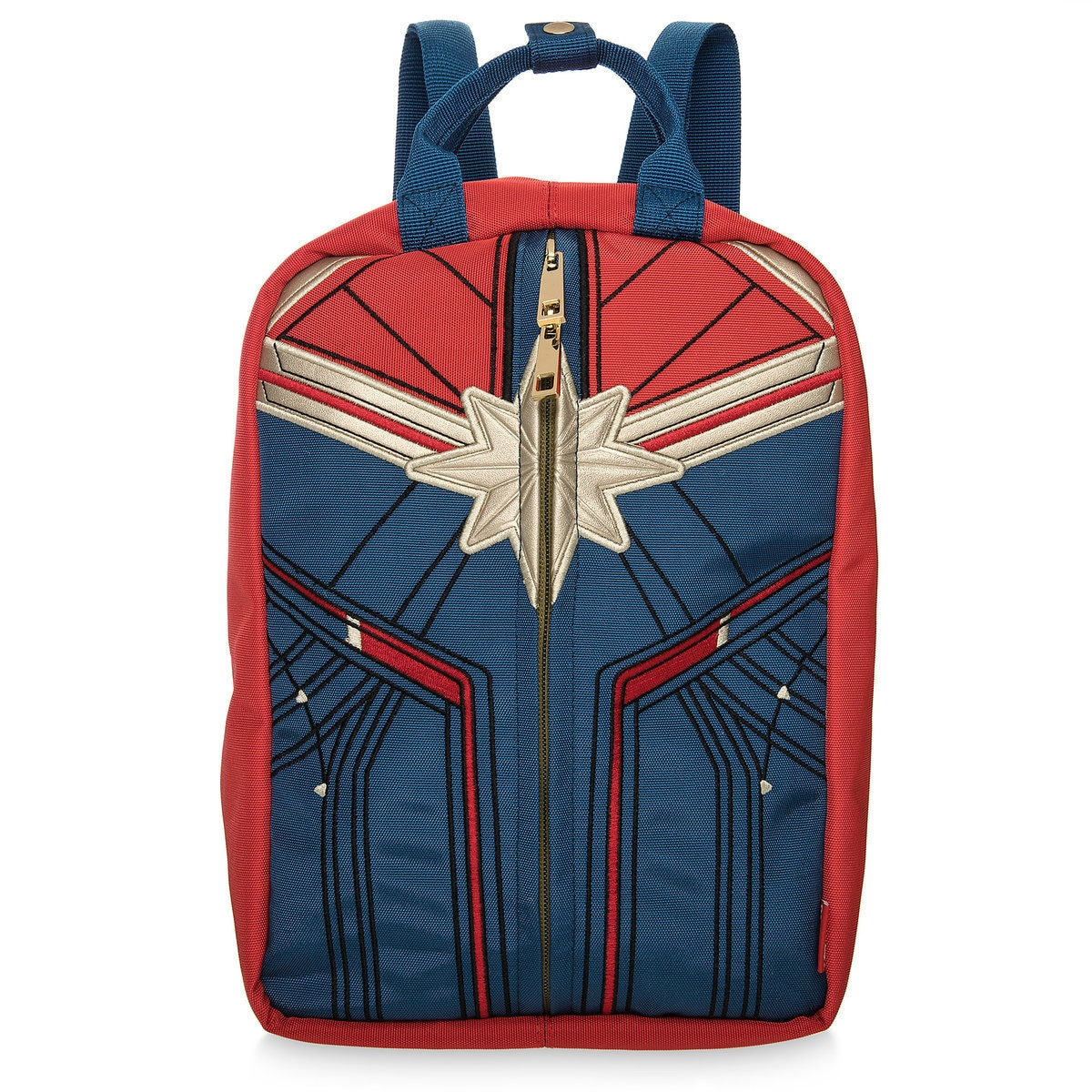 36314093ca Product Image of Marvel's Captain Marvel Reversible Mini Backpack and  Handbag for Women # 1