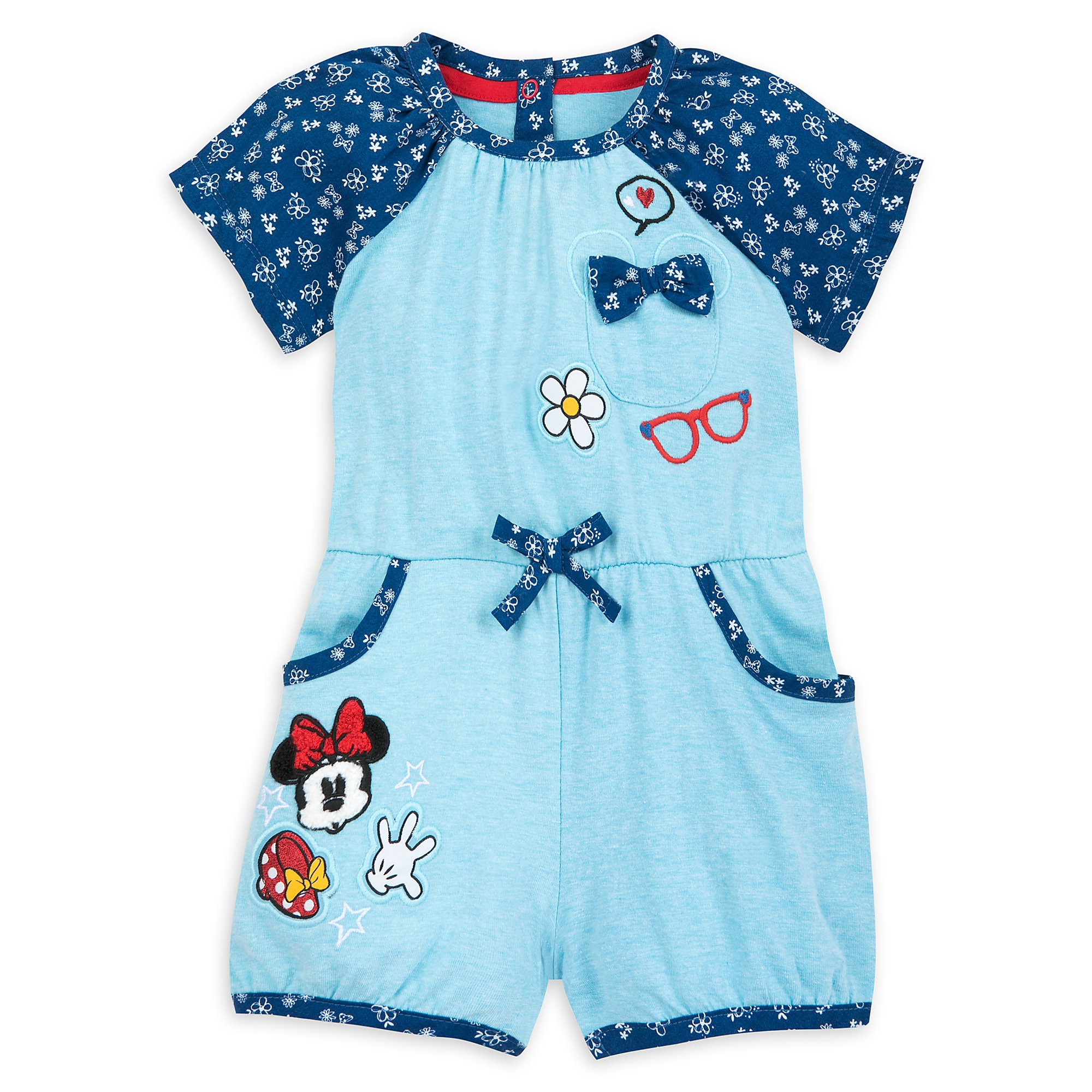 42ac06c17b9 Minnie Mouse Romper for Baby