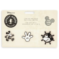 Image of Mickey Mouse Memories Pin Set - January - Limited Release # 2