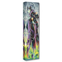 Image of Maleficent ''Flames of Maleficent'' Giclée on Canvas by Tom Matousek # 1