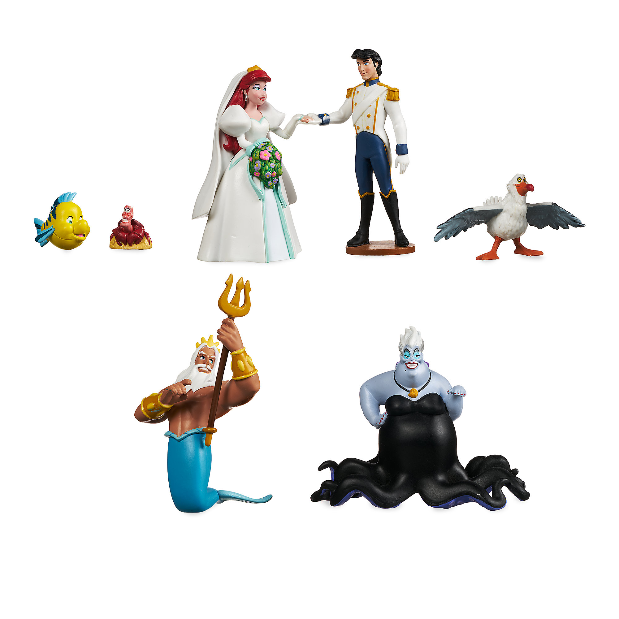 The Little Mermaid Figure Set