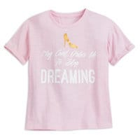 Image of Cinderella Dreaming T-Shirt for Women - Oh My Disney # 1