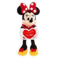Image of Minnie Mouse Message Plush - Medium - I Love You - Personalizable # 1