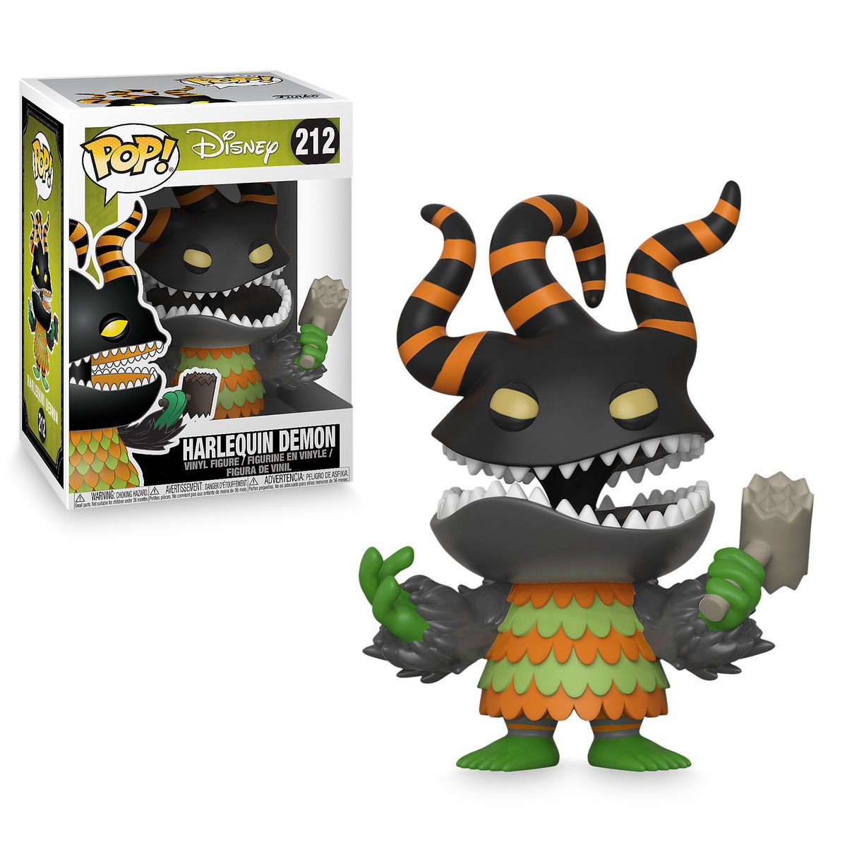 Harlequin Demon Pop! Vinyl Figure by Funko - The Nightmare Before ...