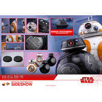 Image of BB-8 and BB-9E Sixth Scale Figure Set by Hot Toys - Star Wars # 4