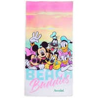 Image of Mickey Mouse and Friends ''Beach Buddies'' Beach Towel - Personalizable # 1