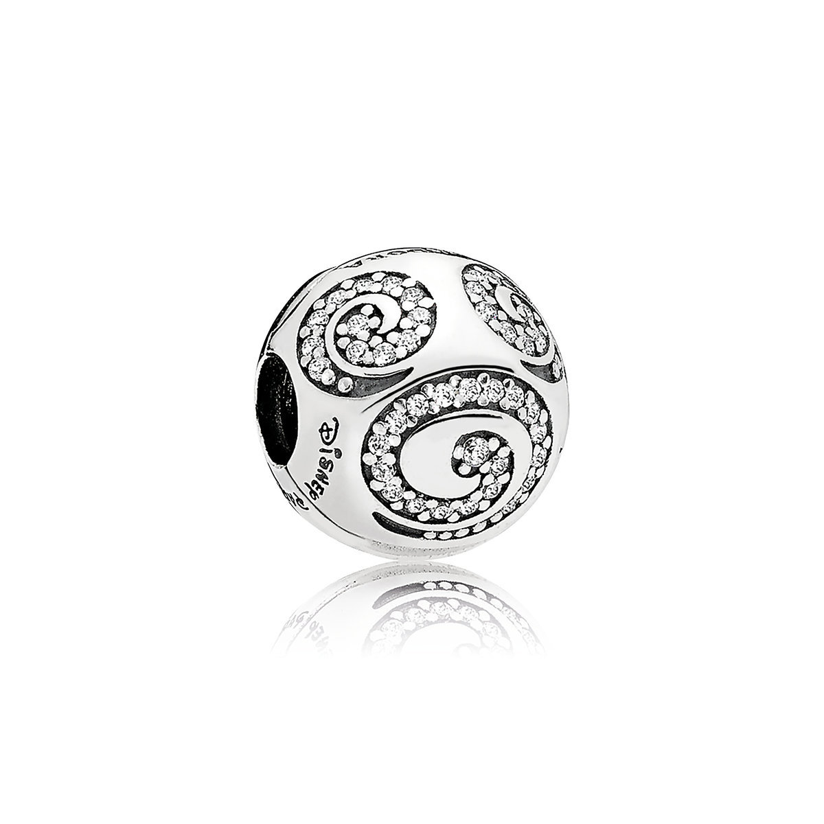 143bf208f Product Image of Mickey Mouse Swirl Clip Charm by Pandora Jewelry # 1