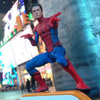 Image of Spider-Man Action Figure - Marvel Select - Spider-Man: Homecoming - 7'' # 2