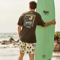Image of Mickey Mouse Swim Trunks for Men by Neff # 3