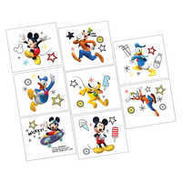 Image of Mickey Mouse On the Go Tattoos - 2-Pack # 1