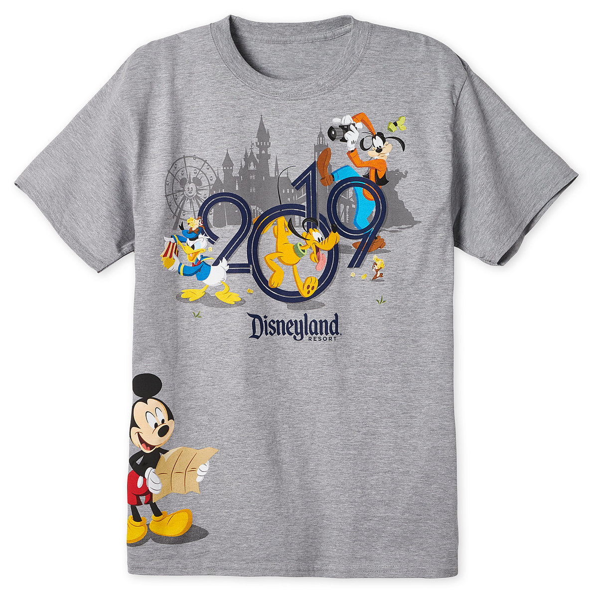 e537230aba44b Product Image of Mickey Mouse and Friends T-Shirt for Adults - Disneyland  2019 #