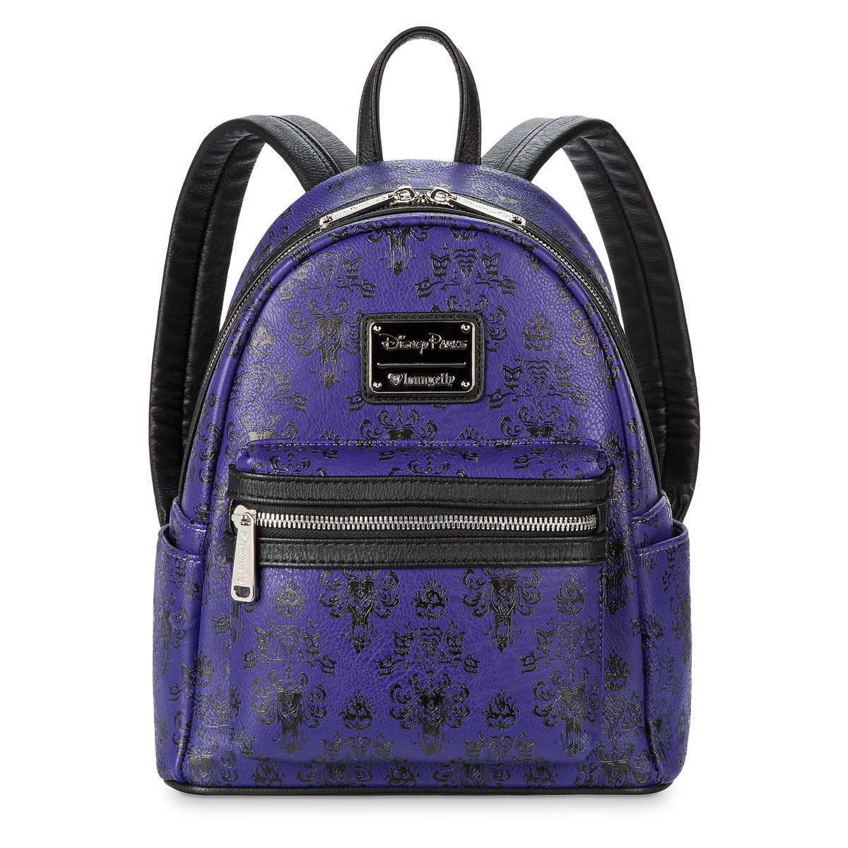 acf579d3f51 Product Image of Haunted Mansion Wallpaper Mini Backpack by Loungefly   1