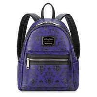 Image of Haunted Mansion Wallpaper Mini Backpack by Loungefly # 1