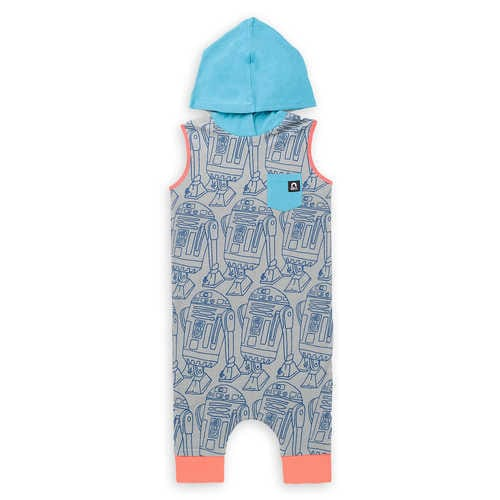 Disney R2-D2 Hooded Romper Tank for Baby and Toddler by Rags