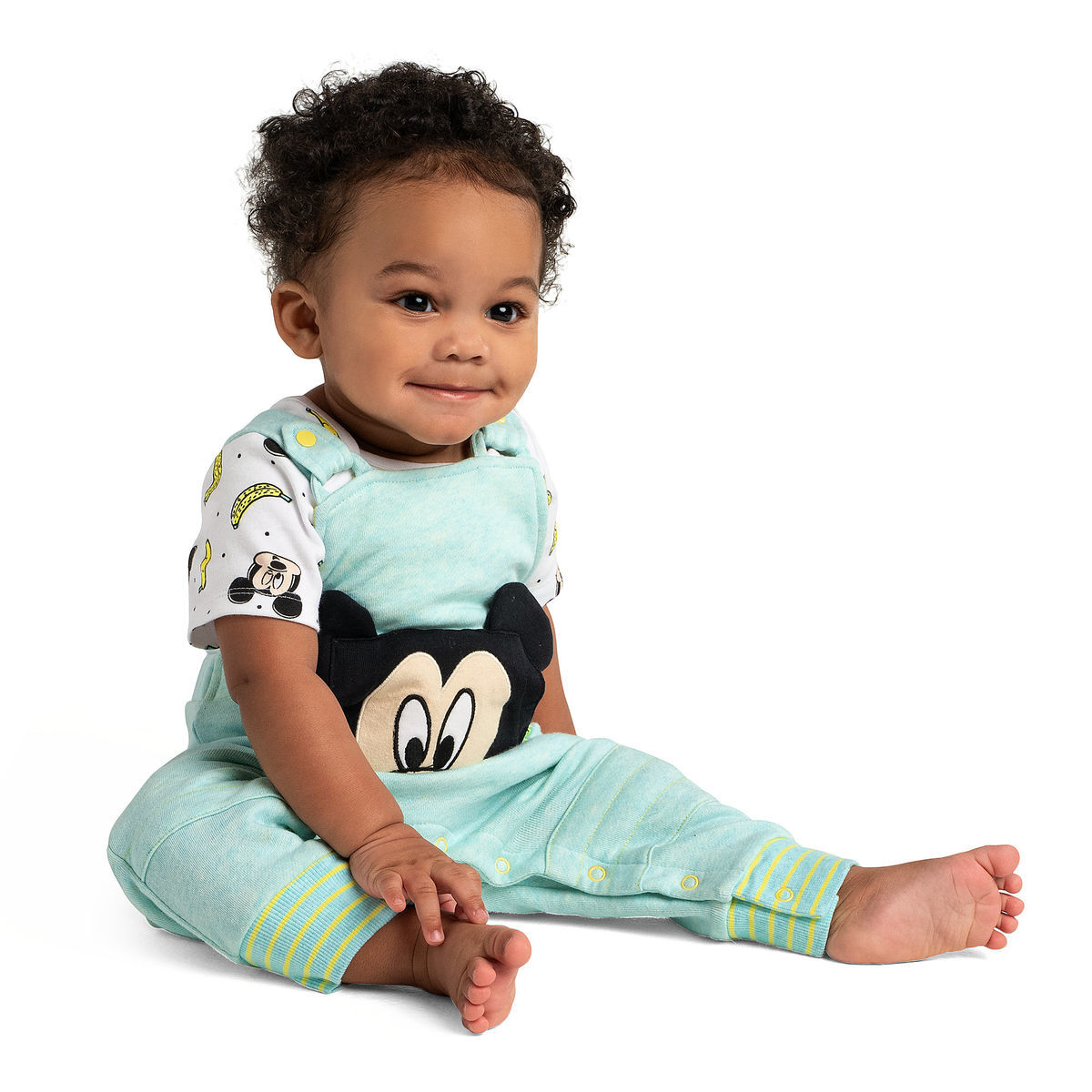 Product Image of Mickey Mouse Bodysuit and Dungaree Set for Baby # 2