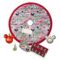 Image of Santa Mickey Mouse and Friends Holiday Decor Collection # 1