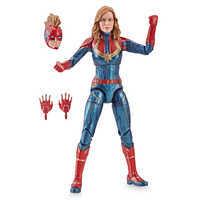 Image of Marvel's Captain Marvel Action Figure - Legends Series - Captain Marvel # 1