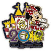 Image of Minnie Mouse Walt Disney World Pin - 2019 # 1