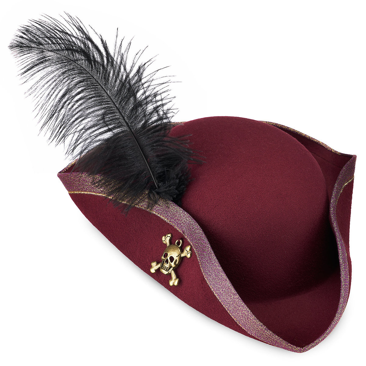 f4293f6c7 Product Image of Redd Pirate Hat for Adults - Pirates of the Caribbean # 1