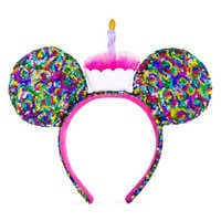 Image of Mickey Mouse Birthday Ear Headband # 1