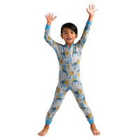 Image of Stitch Stretchie Sleeper for Kids # 2