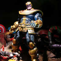 Image of Thanos Action Figure by Marvel Select - 7'' # 8