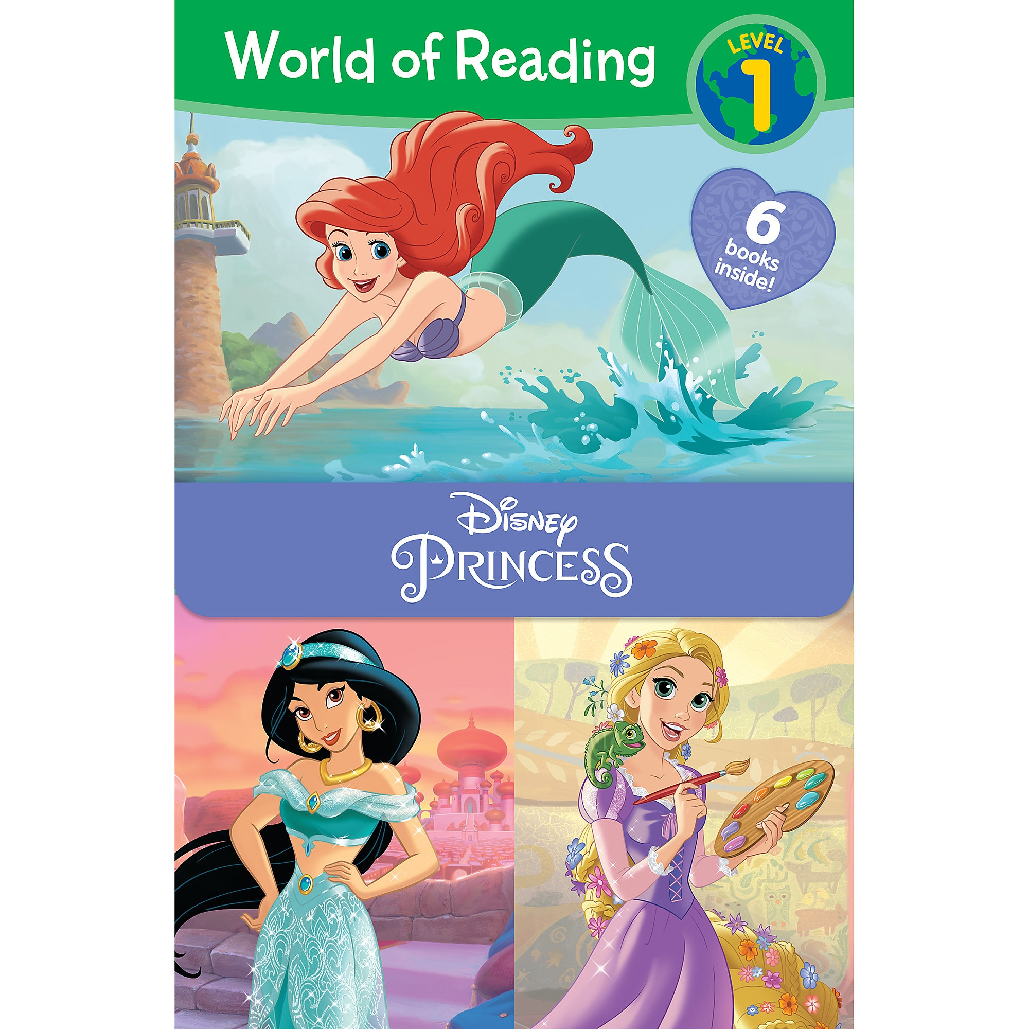 Disney Princess World of Reading Book