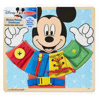 Image of Mickey Mouse Clubhouse Wooden Basic Skills Board by Melissa & Doug # 1