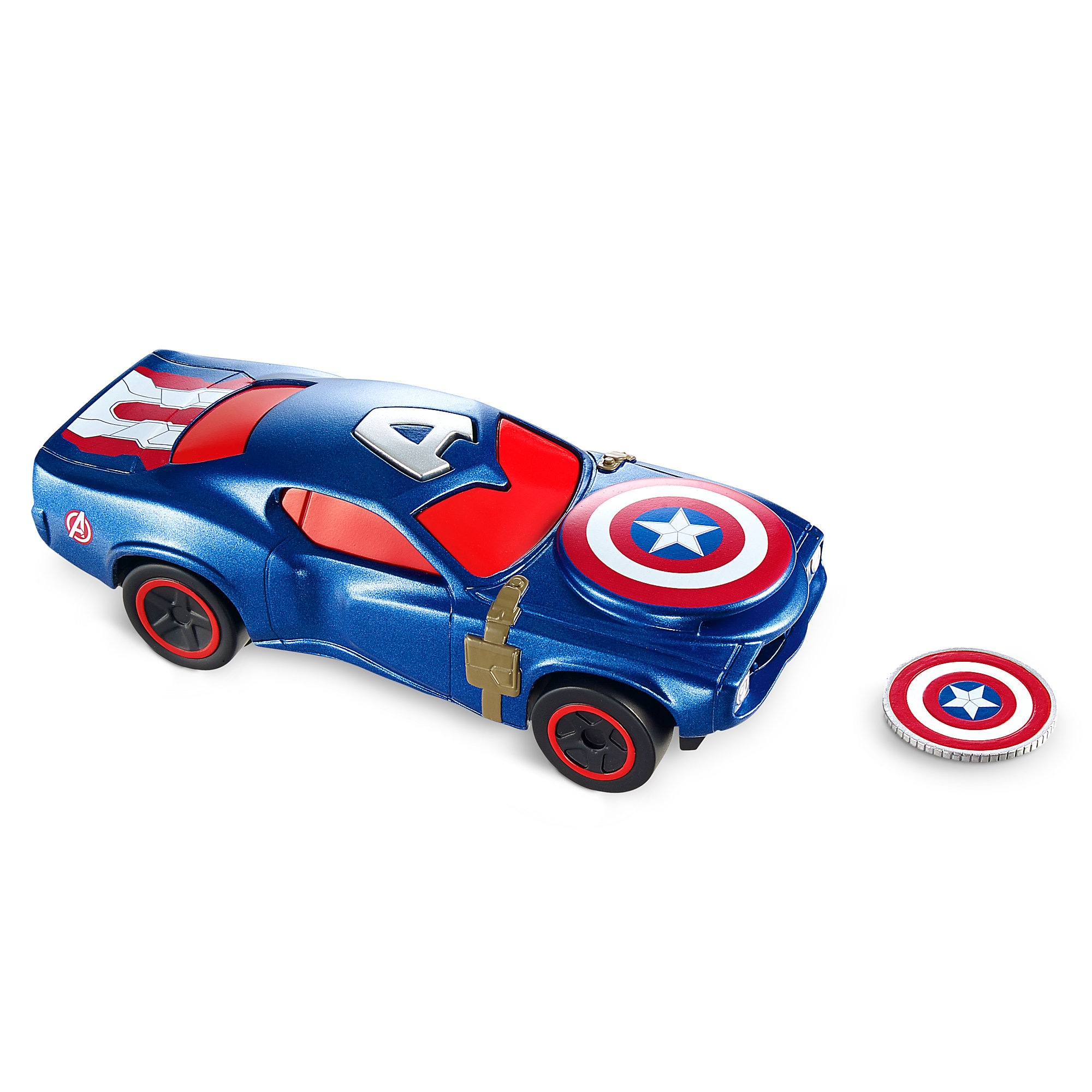 Captain America Shield Projectile Car