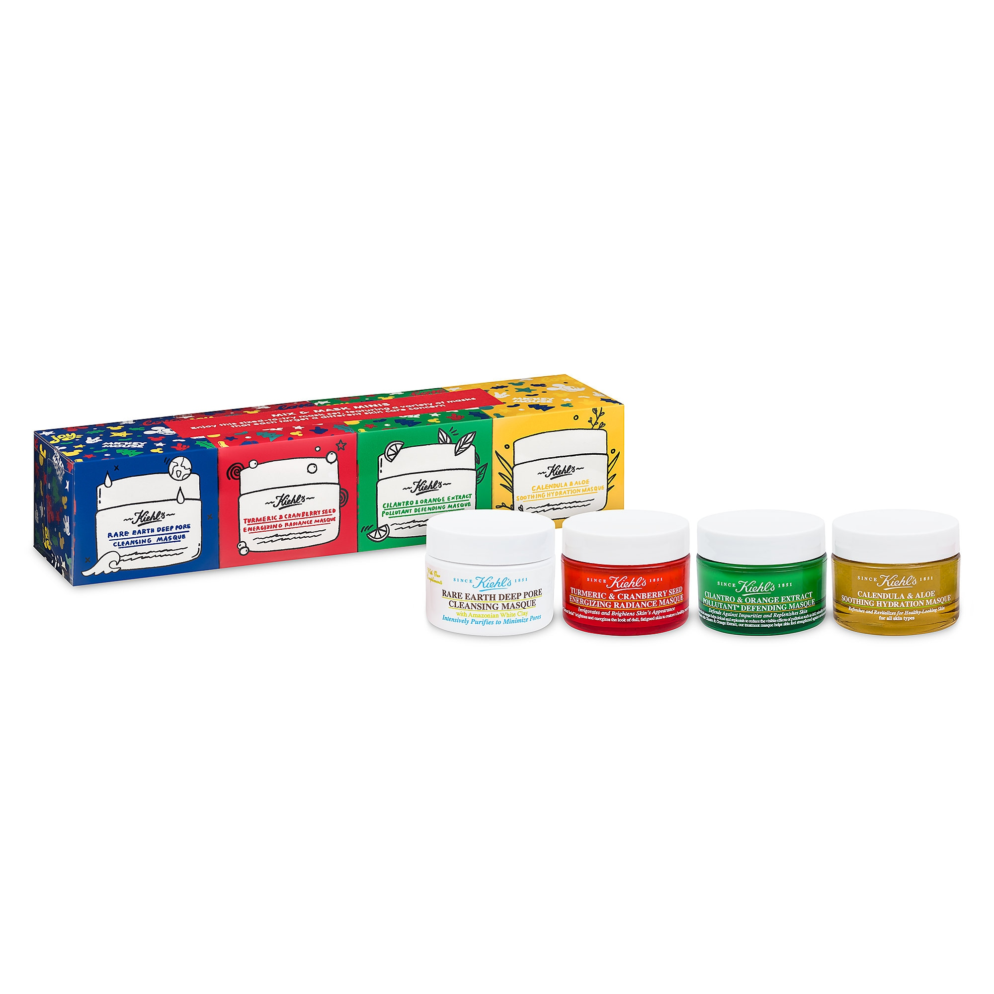 Mickey Mouse Face Mask Set by Kiehl's