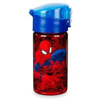 Image of Spider-Man Flip-Top Water Bottle # 1