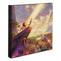 Image of ''The Lion King'' Gallery Wrapped Canvas by Thomas Kinkade # 2