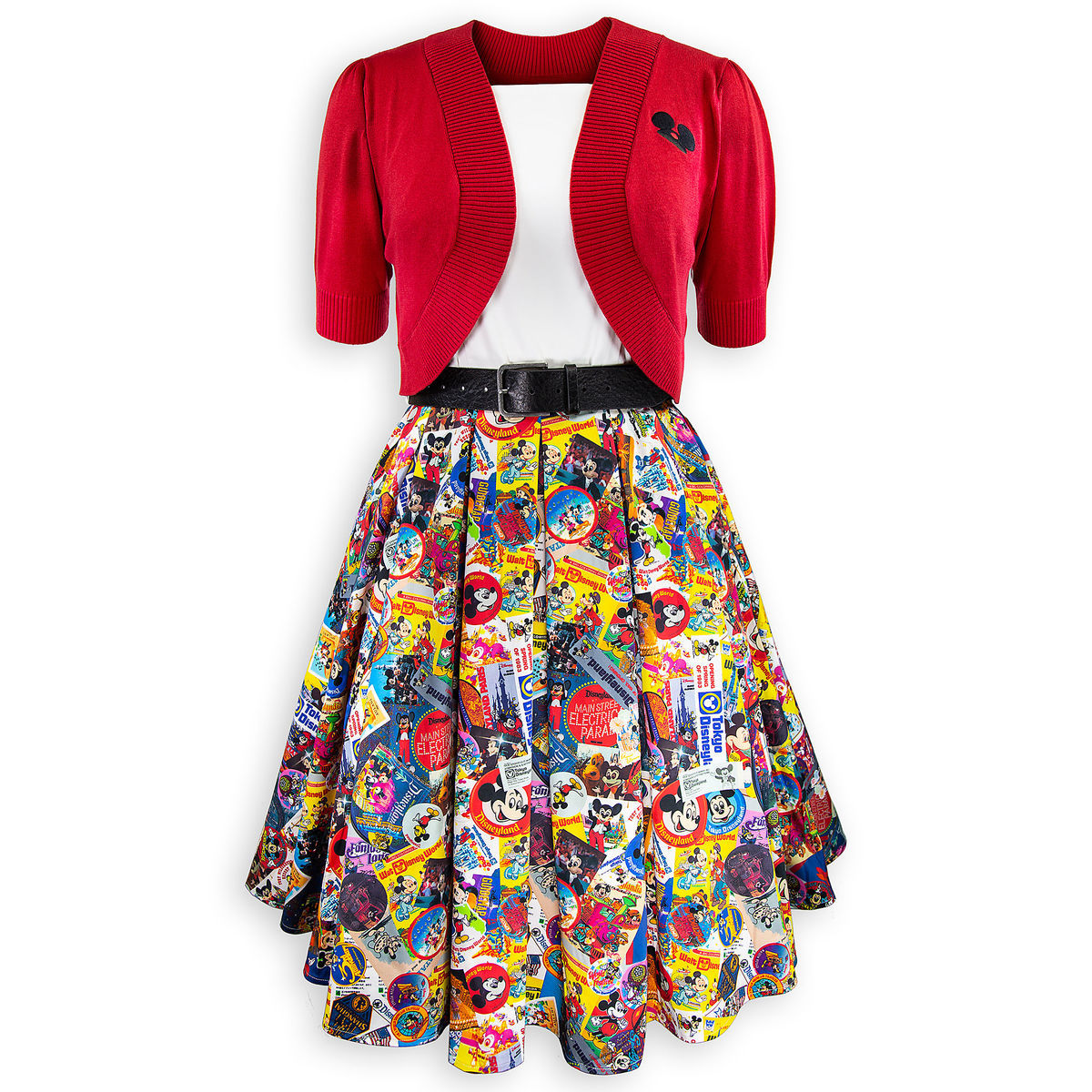 5d7e8c7605d1 Mickey Mouse Dress and Cardigan for Women