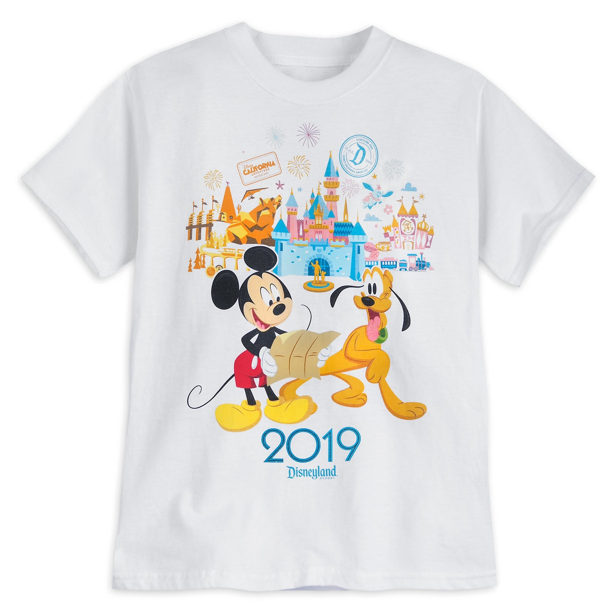 eff5cf327 Product Image of Mickey Mouse and Friends T-Shirt for Kids - Disneyland  2019 #