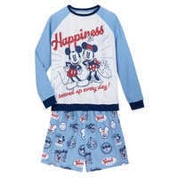 Image of Mickey and Minnie Mouse Pajama Set for Women # 1