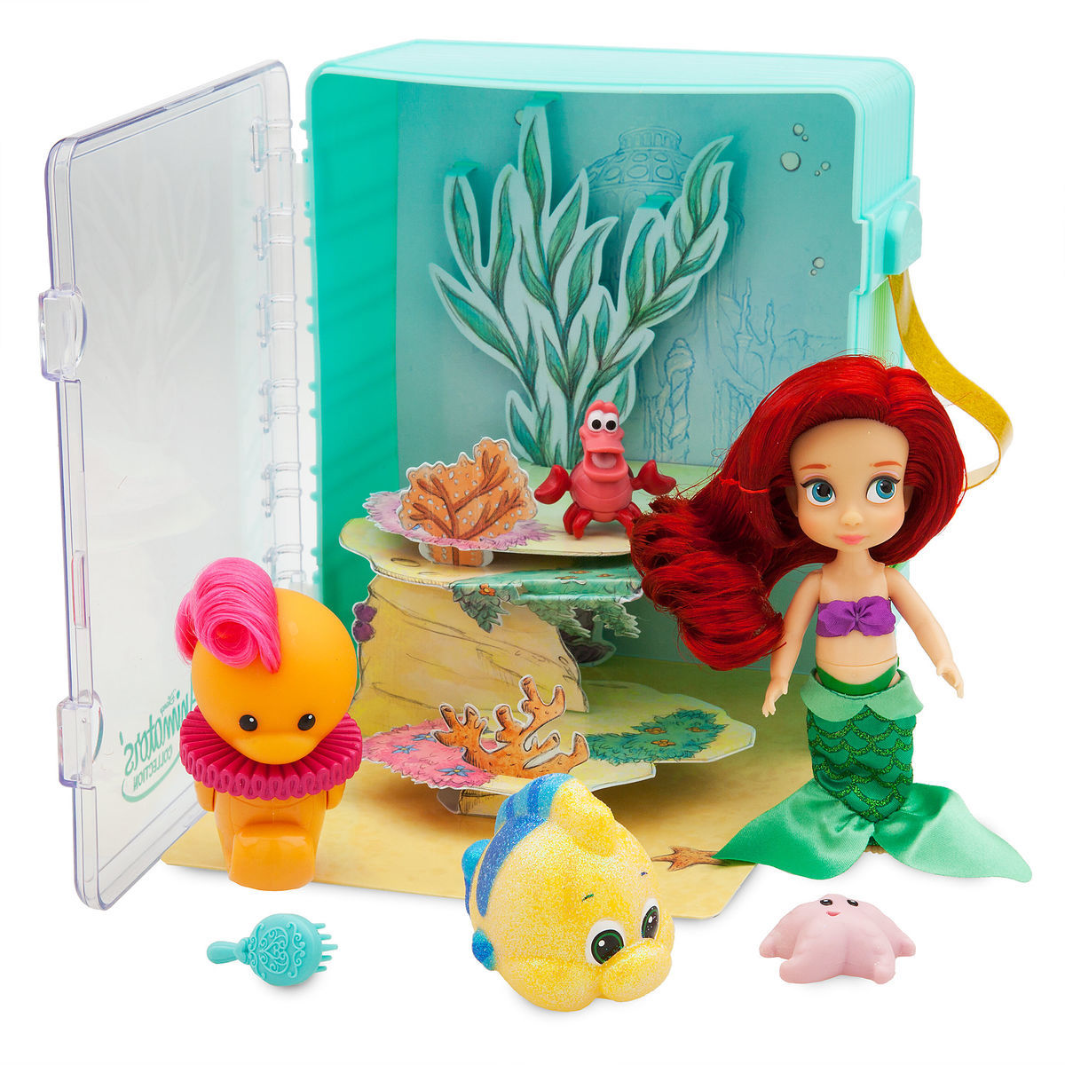 ffc84f3b946 Product Image of Disney Animators  Collection Ariel Mini Doll Playset - The  Little Mermaid