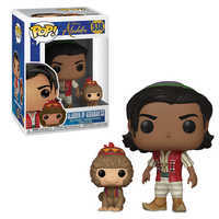 디즈니 알라딘 피규어 Disney Aladdin and Abu Pop! Vinyl Figures by Funko - Live Action Film
