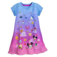 Image of Disney Emoji Nightshirt for Girls # 1