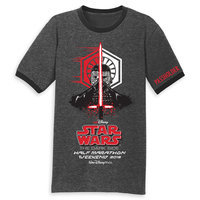 runDisney Star Wars Half Marathon The Dark Side T-Shirt for Adults - Limited Release