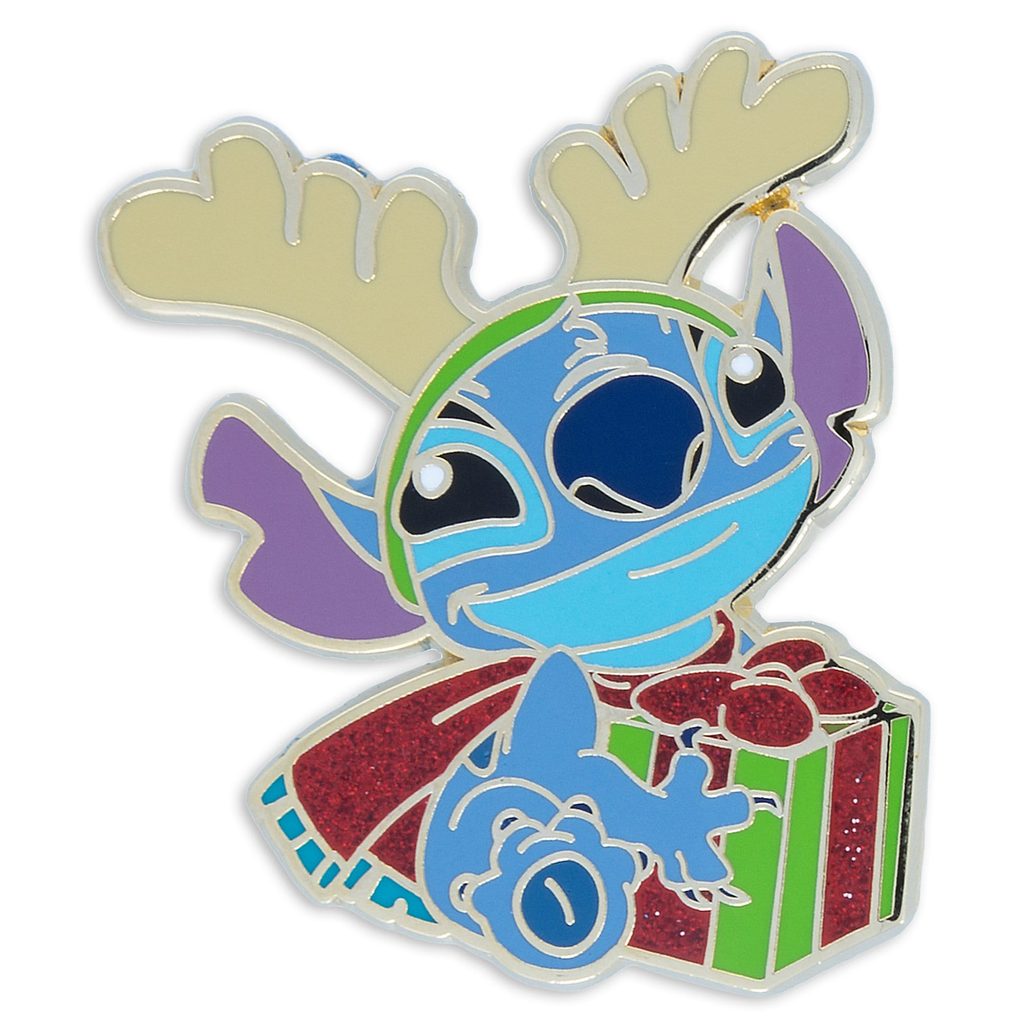 Stitch Holiday Pin