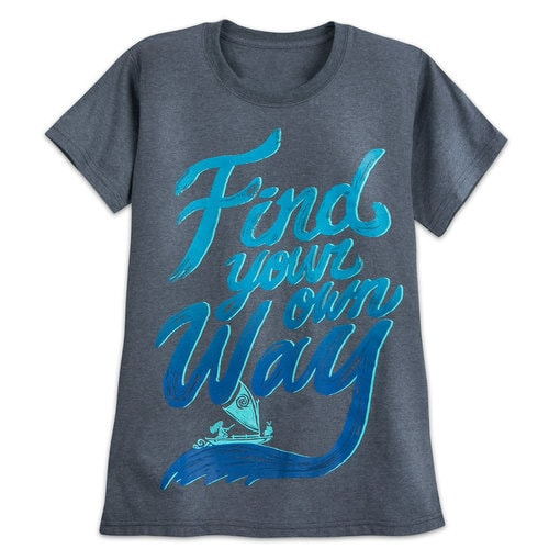 Moana ''Find Your Own Way'' T-Shirt for Women