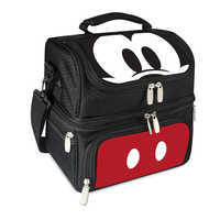 Image of Mickey Mouse Lunch Box with Utensils # 1